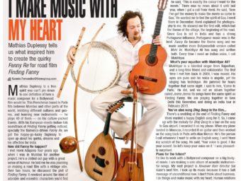 Interview in Mumbai Time 2014 (english)